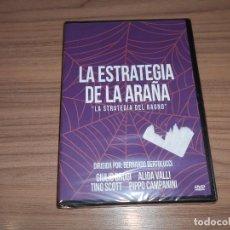 Cine: LA ESTRATEGIA DE LA ARAÑA DVD DE BERNARDO BERTOLUCCI ALIDA VALLI NUEVA PRECINTADA. Lote 235184855
