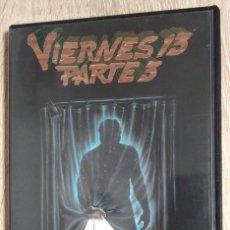 Cine: DVD - VIERNES 13 PARTE 3 - DANA KIMMELL, PAUL KRATKA, STEVE MINER - TERROR, SLASHER. Lote 235196600