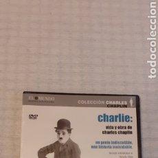Cine: DVD, VIDA Y OBRA DE CHARLES CHAPLIN, PRECINTADO. Lote 235364235