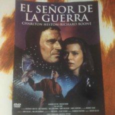 Cine: LOTE DVD EL SEÑOR DE LA GUERRA. Lote 235364850