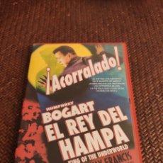 Cine: EL REY DE HAMPA DVD. Lote 235365615