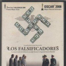 Cinema: LSO FALSIFICADORES. OOCAR 2008 A LA MEJOR PELICULA EXTRANJERA. DVD RF-1627. Lote 235556630