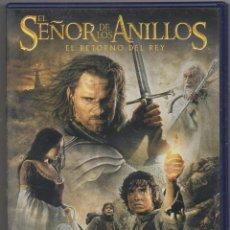 Cinema: EL SEÑOR DE LOS ANILLOS. EL RETORNO DEL REY. DVD RF-1631. Lote 235560185