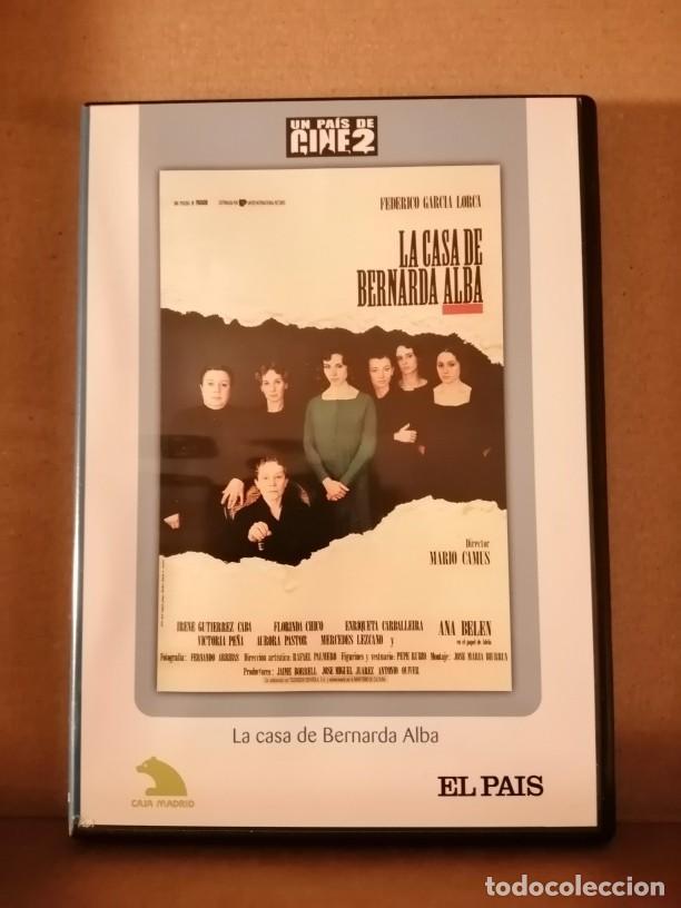 DVD COLECCION UN PAIS DE CINE 2 / LA CASA DE BERNALDA ALBA / MARIO CAMUS / ANA BELEN (Cine - Películas - DVD)