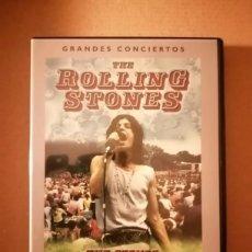 Cine: DVD GRANDES CONCIERTOS / THE ROLLING STONES / THE STONES IN THE PARK. Lote 235585450