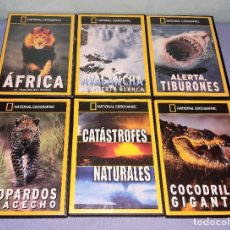 Cine: 6 DVD DE NATIONAL GEOGRAPHIC. Lote 235735940