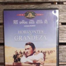 Cine: HORIZONTES DE LA GRANDEZA DVD. Lote 235860485
