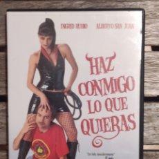 Cine: HAZ CONMIGO LO QUE QUIERAS DVD. Lote 235860520