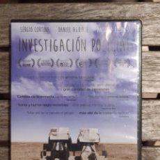 Cine: INVESTIGACIÓN POLICIAL DVD. Lote 235860955