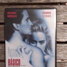 Cine: INSTINTO BASICO EDICION ESPECIAL DE 2 DISCOS DVD. Lote 235861605