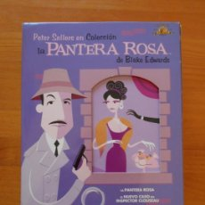 Cinema: DVD COLECCION LA PANTERA ROSA - BLAKE EDWARDS - PETER SELLERS - 6 DISCOS (5P). Lote 235923615