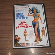 Cinema: UNA SIRENA SOSPECHOSA DVD DORIS DAY ROD TAYLOR WARNER COMO NUEVA. Lote 236153415
