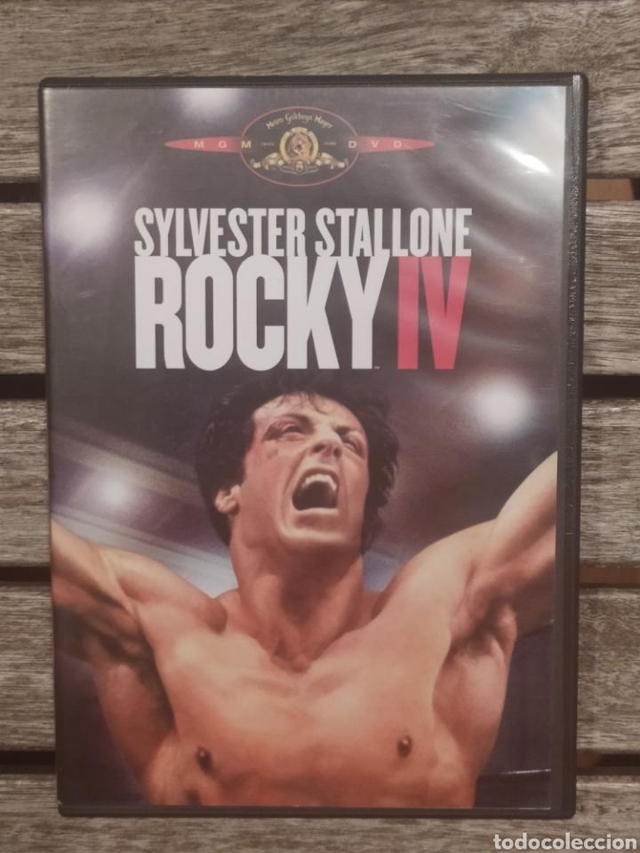 ROCKY IV SYLVESTER STALLONE DVD (Cine - Películas - DVD)