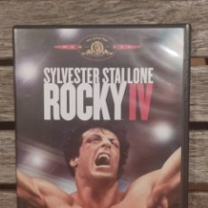 Cine: ROCKY IV SYLVESTER STALLONE DVD. Lote 236173970