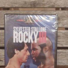 Cine: ROCKY III DVD SYLVESTER STALLONE NUEVA Y PRECINTADA. Lote 236174290