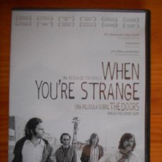 Cine: DVD WHEN YOU'RE STRANGE - THE DOORS (6A). Lote 236213720