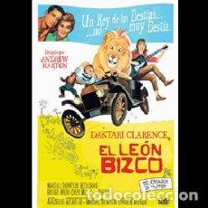 Cine: EL LEÓN BIZCO DIRECTOR: ANDREW MARTON ACTORES: MARSHALL THOMPSON, BETSY DRAKE, RICHARD HAYDN. Lote 236246585