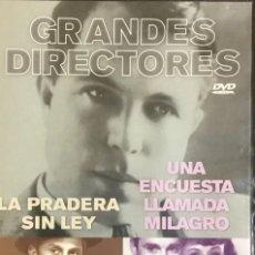 Cine: LA PRADERA SIN LEY - UNA ENCUESTA LLAMADA MILAGRO. Lote 236250840
