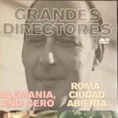 Cine: ALEMANIA, AÑO CERO - ROMA, CIUDAD ABIERTA. Lote 236250960