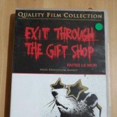 Cine: EXIT THROUGH THE GIFT SHOP. FAITES LE MUR (BANKSY) DVD. Lote 236270890