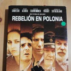 Cine: REBELIÓN EN POLONIA. UNA PELÍCULA DE JON AVNET (DVD) 2 DISCOS. Lote 236271315