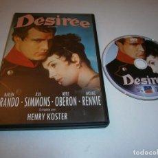 Cinema: DESIREE DVD MARLON BRANDO JEAN SIMMONS. Lote 236273630