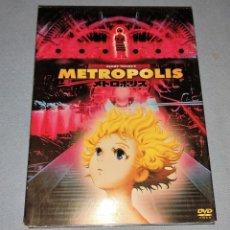 Cine: DVD EDICION ESPECIAL METROPOLIS DE OSAMU TEZUKA'S ORIGINAL MANGA ANIME. Lote 236313860
