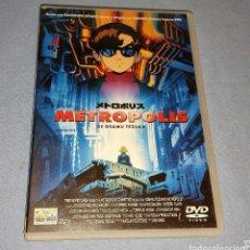 Cine: DVD DOBLE METROPOLIS DE OSAMU TEZUKA'S ORIGINAL MANGA ANIME. Lote 236314520