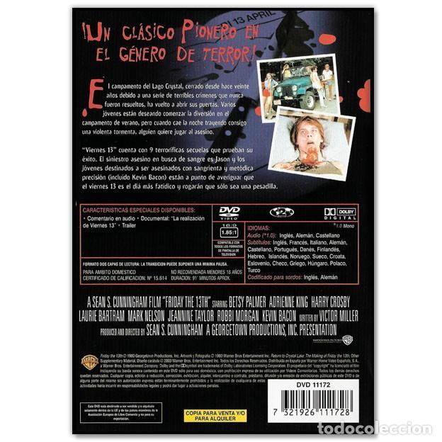 Cine: VIERNES 13 DVD - Foto 2 - 236382955