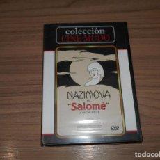 Cine: SALOME DVD CINE MUDO DE OSCAR WILDE CHARLES BRYANT NAZIMOVA NUEVA PRECINTADA. Lote 277715083