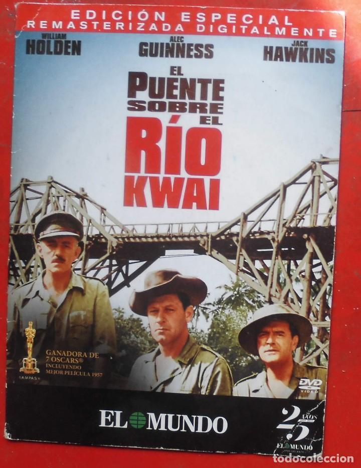 EL PUENTE SOBRE EL RÍO KWAI (Cine - Películas - DVD)