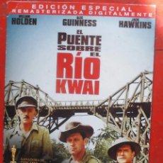 Cine: EL PUENTE SOBRE EL RÍO KWAI. Lote 236483475