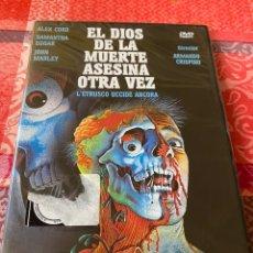 Cine: EL DIOS DE LA MUERTES ASESINA OTRA VEZ DVD PRECINTADO. Lote 236543645