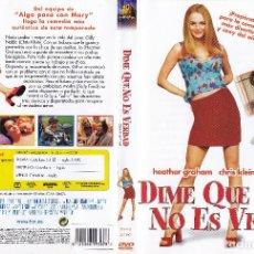 Cine: DVD - DIME QUE NO ES VERDAD - PERFECTO ESTADO - ENVÍOS DESDE 1 € - PEDROIG. Lote 236656550