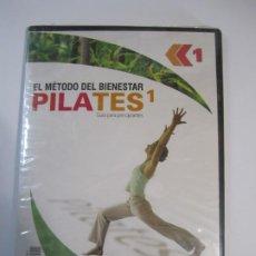 Cine: DVD PILATES 1 EL METODO DEL BIENESTAR NUEVO PRECINTADO. Lote 236721735