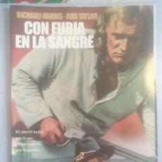 Cinema: LOTE DVD CON FURIA EN LA SANGRE. Lote 236748810