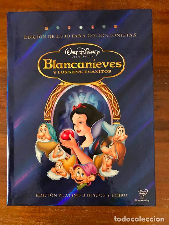 DVD BLANCANIEVES Y LOS 7 ENANITOS DE DISNEY CON LIBRO Y DVD EDICIÓN COLECCIONISTAS (Cine - Películas - DVD)