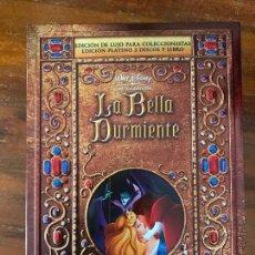 Cine: DVD LA BELLA DURMIENTE EDICIÓN COLECCIONISTAS DE DISNEY LIBRO Y DVD. Lote 236763820