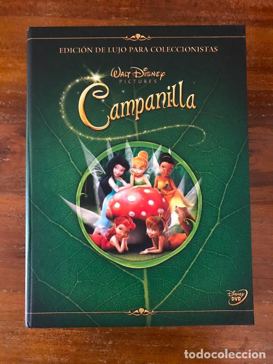 DVD PELÍCULA CAMPANILLA DE DISNEY EDICIÓN COLECCIONISTA LIBRO Y DVD (Cine - Películas - DVD)