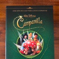 Cine: DVD PELÍCULA CAMPANILLA DE DISNEY EDICIÓN COLECCIONISTA LIBRO Y DVD. Lote 236764880