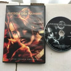 Cine: LOS JUEGOS DEL HAMBRE PELICULA DVD KREATEN. Lote 236773985