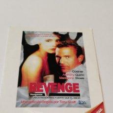 Cine: REVENGE. FUNDA DE CARTÓN.. Lote 236789775