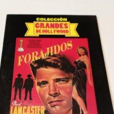 Cinema: FORAJIDOS. FUNDA DE CARTÓN. Lote 236790640