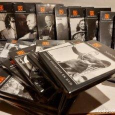 Cine: GRANDES BIOGRAFÍAS EN DVD / COMPLETA 30 DVD / TODOS PRECINTADOS / OCASIÓN !!. Lote 236793765