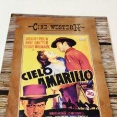 Cinema: CIELO AMARILLO. FUNDA DE CARTÓN.. Lote 236801315
