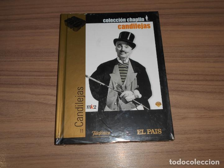 CANDILEJAS EDICION ESPECIAL DVD + LIBRO 60 PAG. CHARLES CHAPLIN NUEVA PRECINTADA (Cine - Películas - DVD)