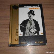 Cine: CANDILEJAS EDICION ESPECIAL DVD + LIBRO 60 PAG. CHARLES CHAPLIN NUEVA PRECINTADA. Lote 254489620