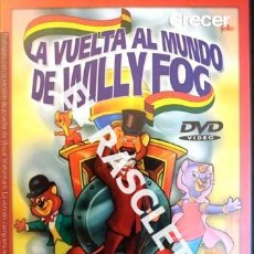 Cine: DVD - PELICULA - LA VUELTA AL MUNDO DE WILLI FOG- EPISODIOS 3-4-5-6. Lote 236885290