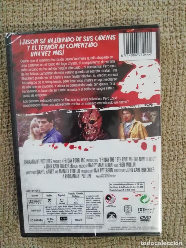 """Cine: """"Viernes 13 parte 7"""" DVD / nuevo y sin desprecintar - Foto 2 - 236962355"""