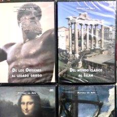 Cine: LOTE 4 DVD PRECINTADOS HISTORIA DEL ARTE - DOCUMENTALES MEDIEVAL RENACIMIENTO BARROCO ORIGENES ISLAM. Lote 237021160